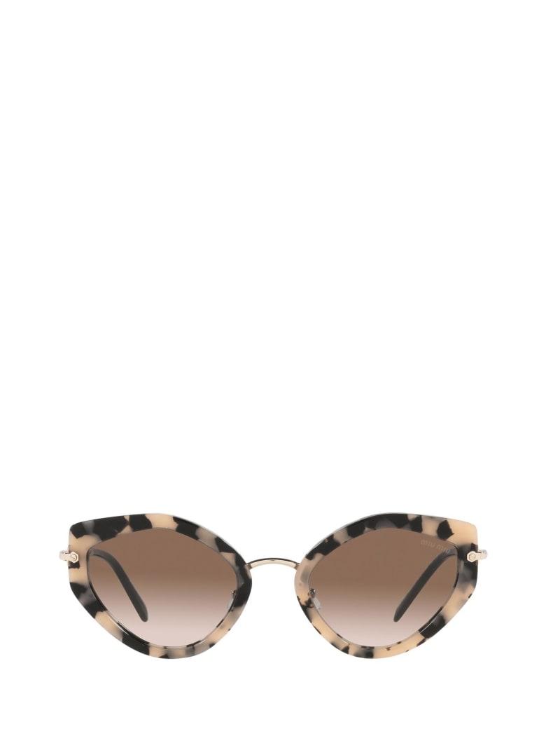 Miu Miu Miu Miu Mu 08xs Havana Pink Sunglasses - Havana Pink