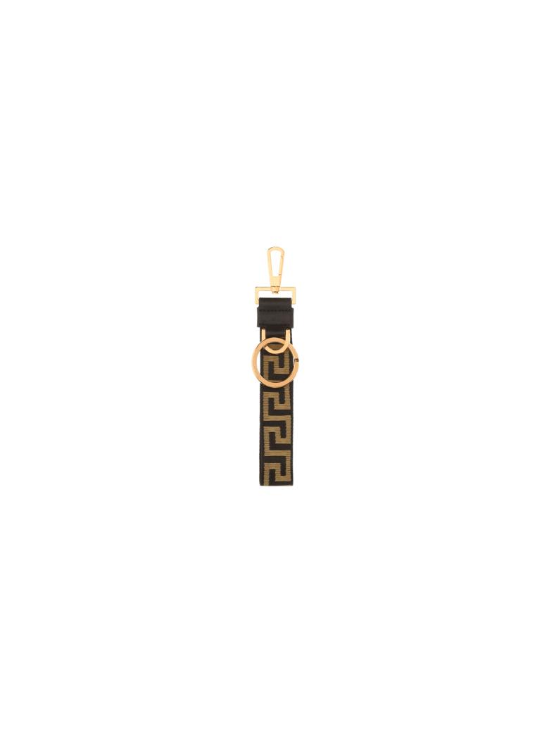 Versace Key Ring - Nero+oro/oro versace
