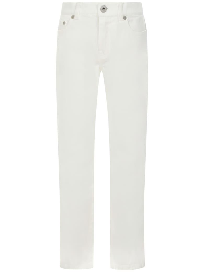 Moncler Enfant Jeans - White