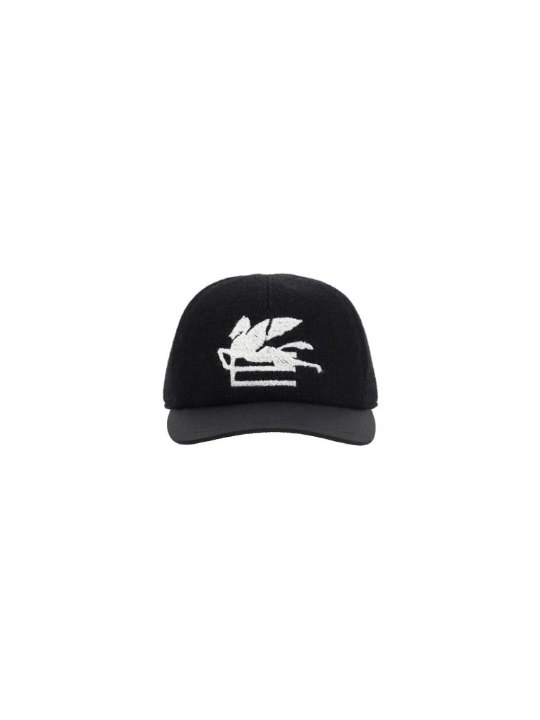 Etro Baseball Hat - Black