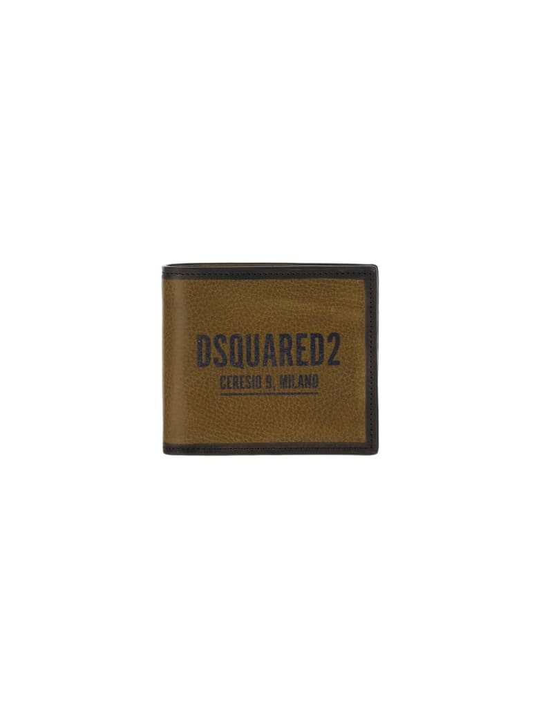 Dsquared2 Wallet - Militare