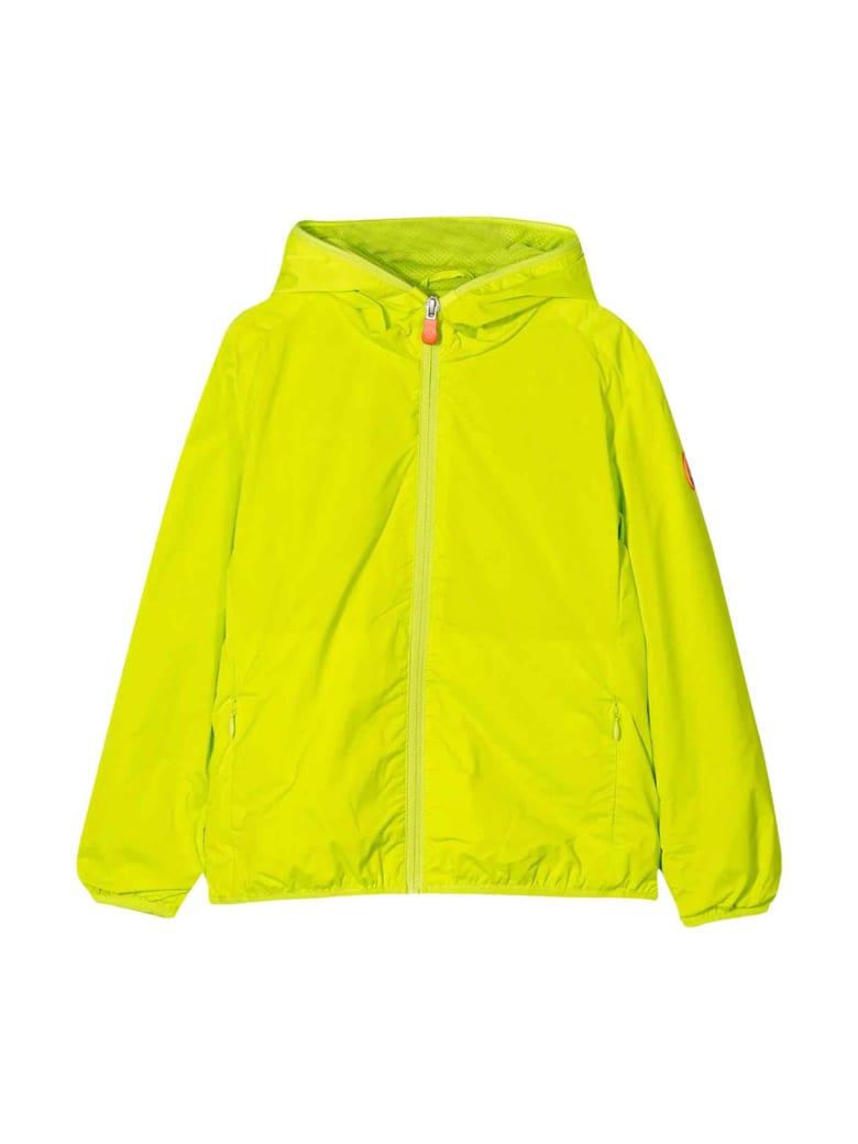 Save the Duck Yellow Waterproof Jacket - Giallo verde
