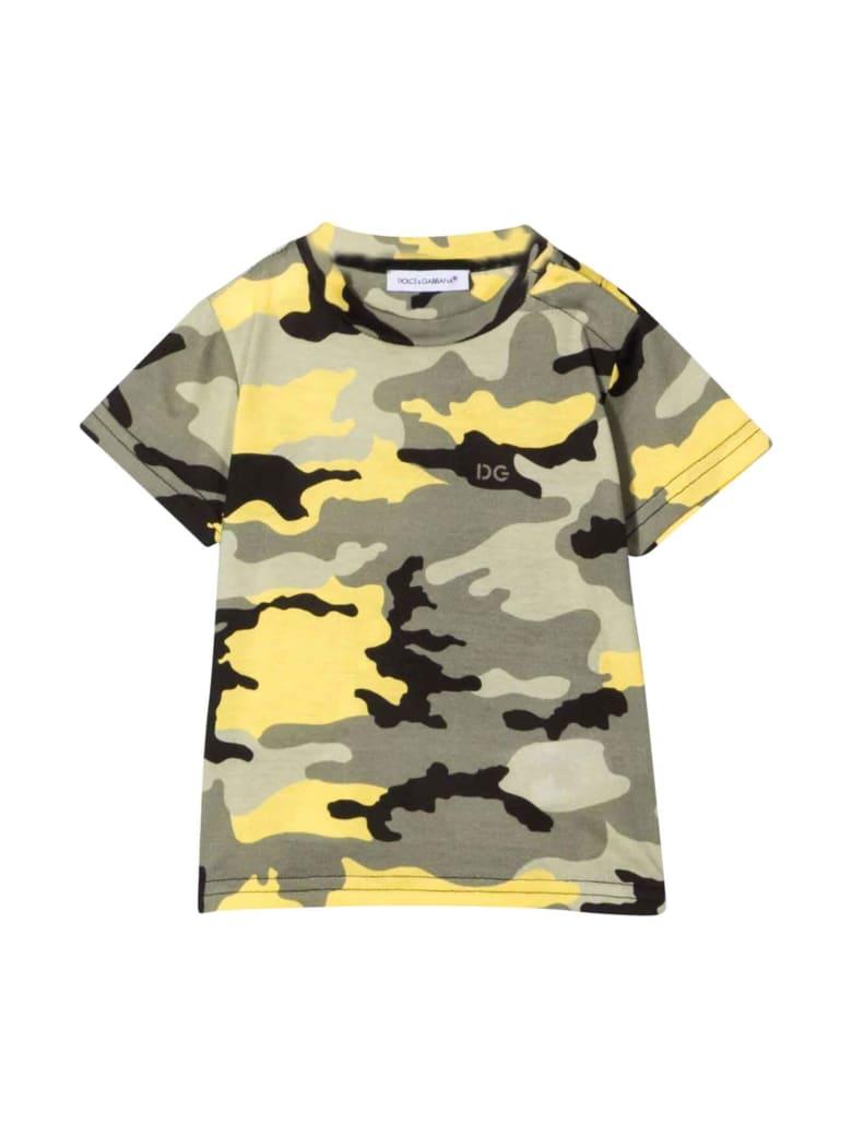 Dolce & Gabbana Newborn T-shirt - Camouflage