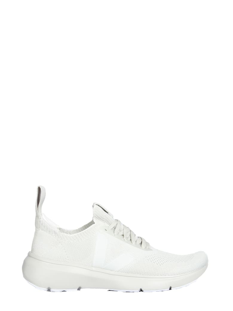 Rick Owens Low Sock Oyster Sneakers - BIANCO