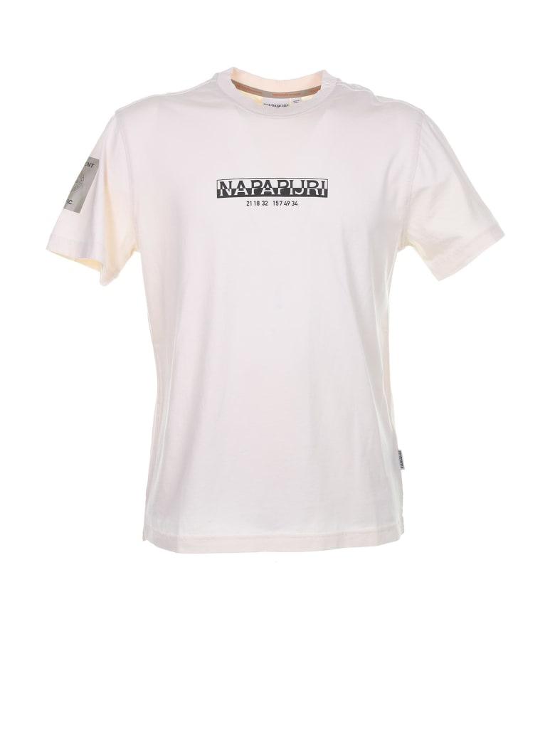 Napapijri T-Shirt - BIANCO