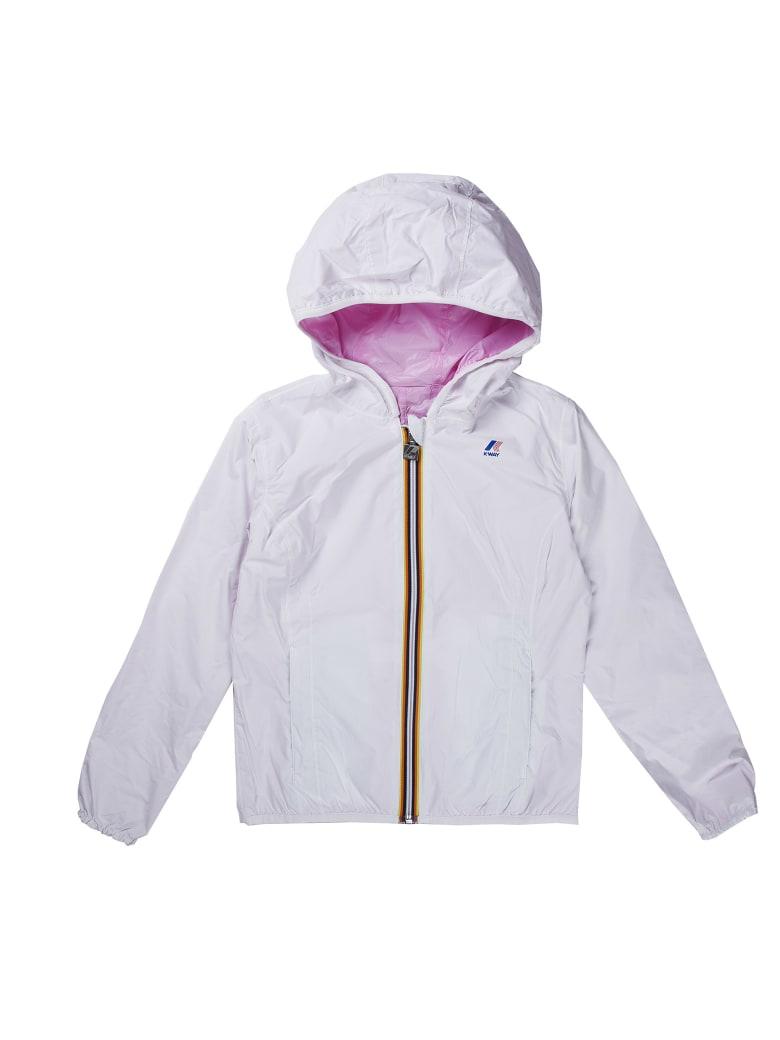 K-Way Reversible White And Pink - White