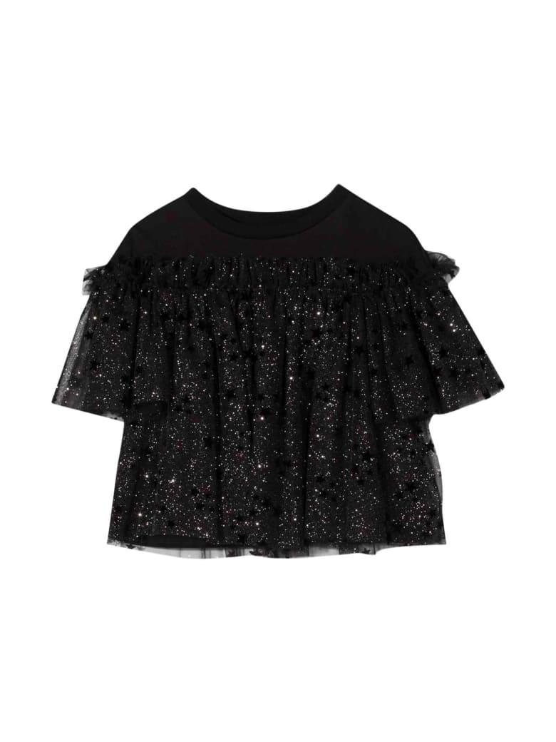Simonetta Kids Black Blouse - Nero