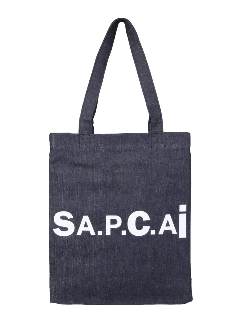 A.P.C. x Sacai Holly Tote Bag - BLU
