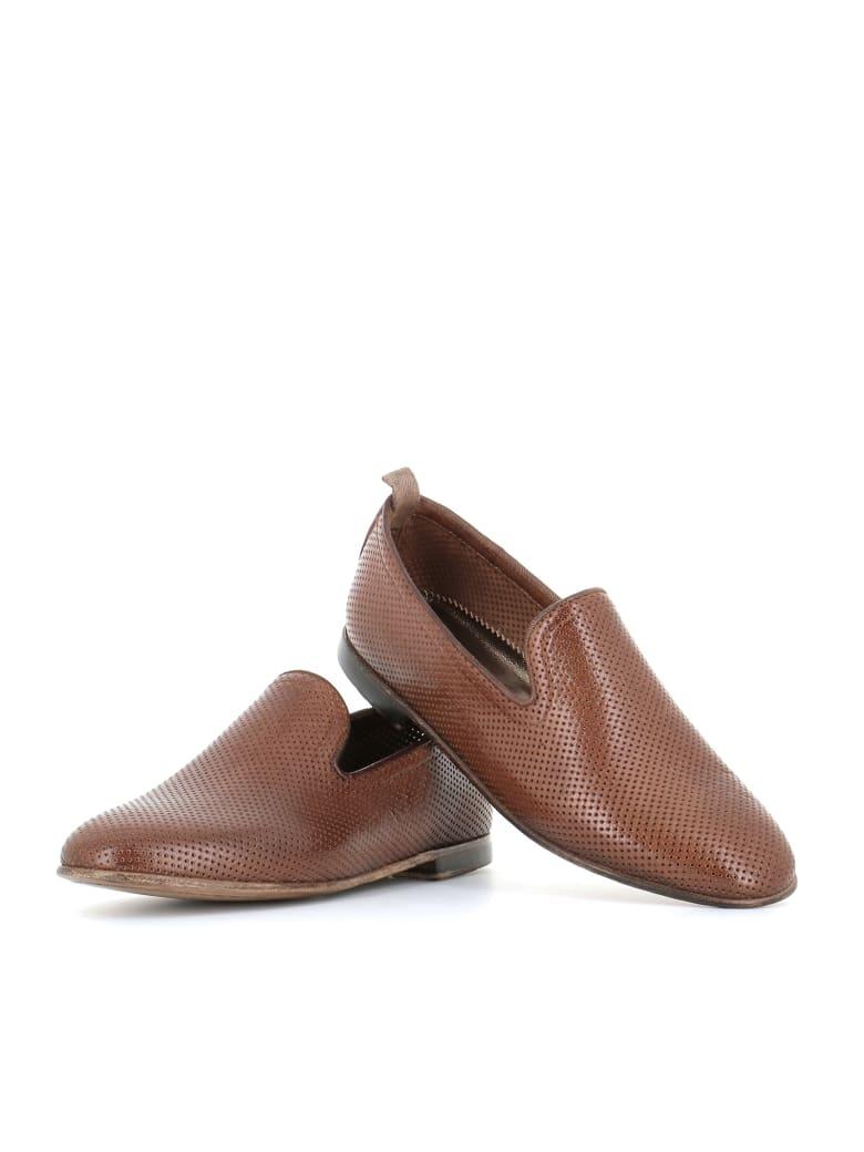 "Alexander Hotto Slipper ""59605"" - Leather"