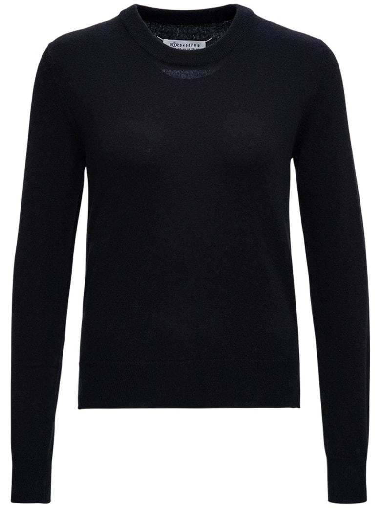Maison Margiela Black Wool Sweater - Black