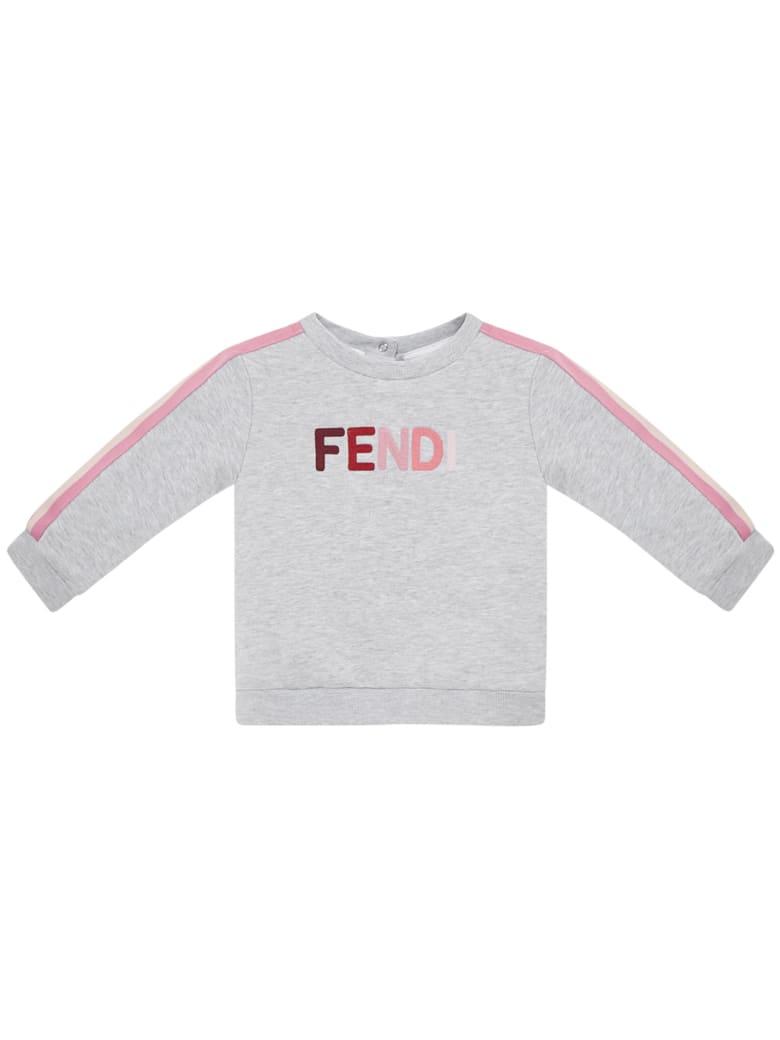 Fendi Kids Sweatshirt - Grey