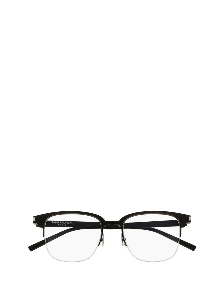 Saint Laurent Saint Laurent Sl 189 Slim Black Glasses - Black