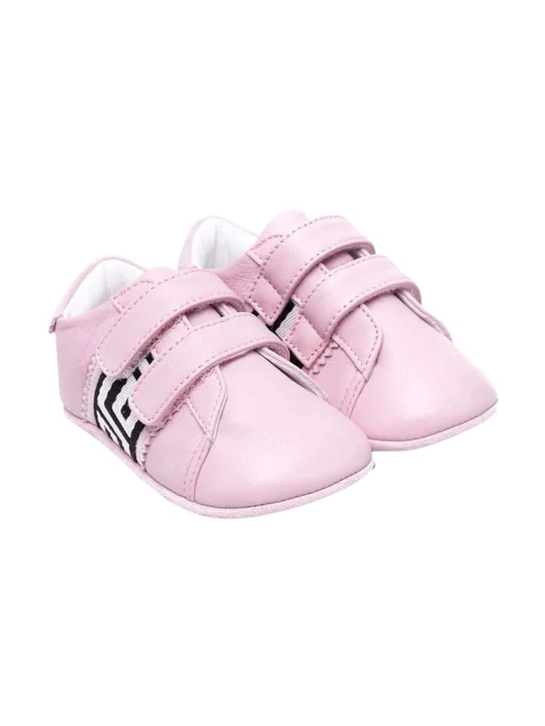 Versace Young Newborn Pink Shoes - Rosa