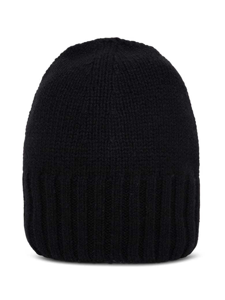 Tessa Black Cashmere Hat - Black