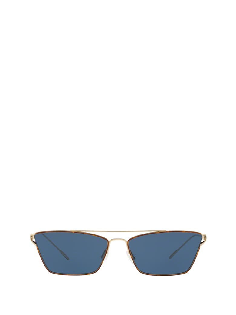 Oliver Peoples Oliver Peoples Ov1244s Soft Gold / Dtbk Foil Sunglasses - Soft Gold / Dtbk Foil