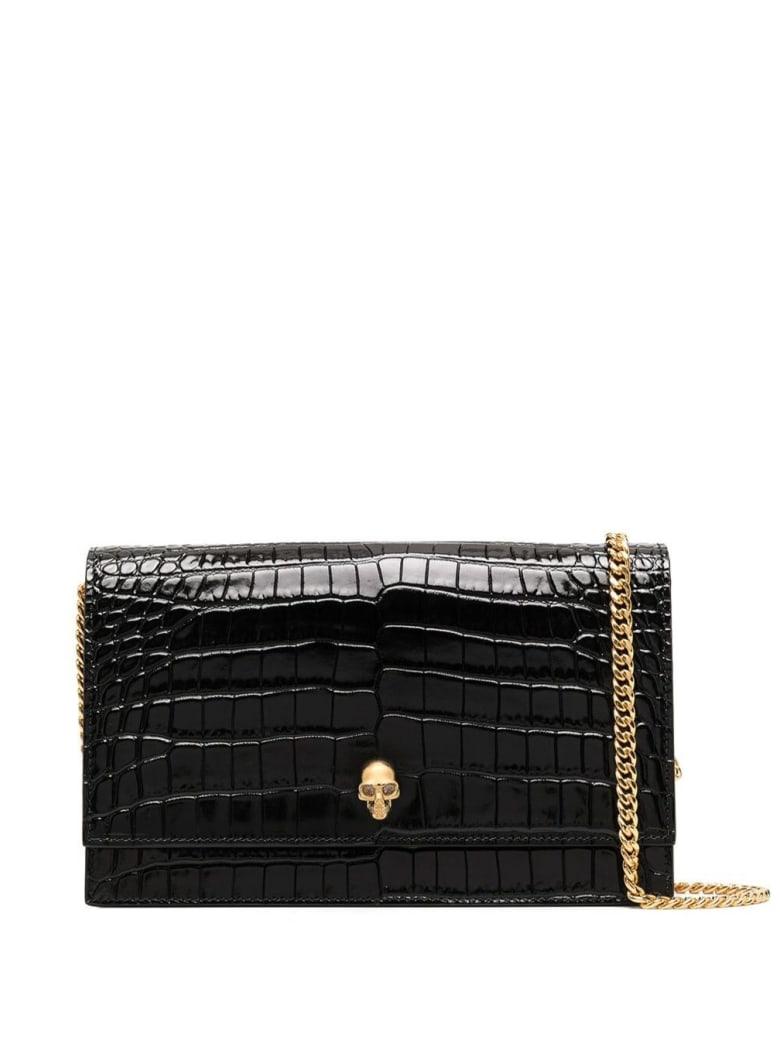 Alexander McQueen Skull Medium Crossbody Bag - Black