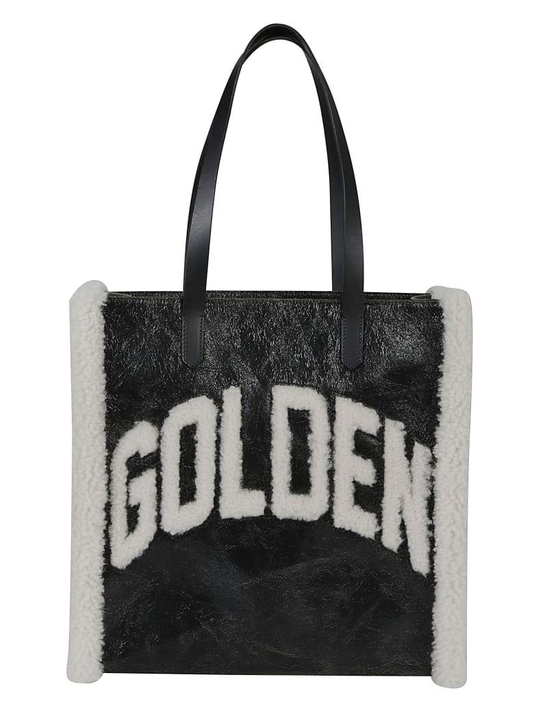 Golden Goose California Golden Tote - Black/Ivory