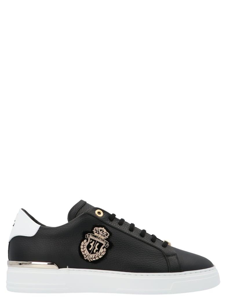 Billionaire 'crest' Shoes - Black