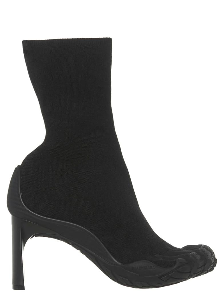 Balenciaga 'high Toe Bootie' Shoes - Black