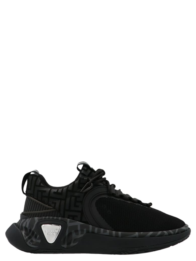 Balmain 'b Runner' Shoes - Black