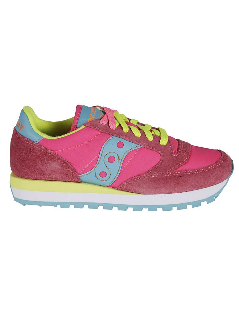 Saucony Jazz Original Sneakers - Pink/Yellow