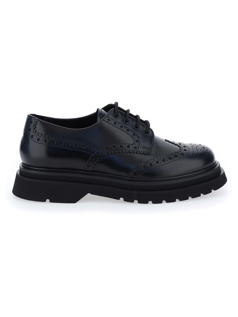 Prada Classic Derby Shoes - Black