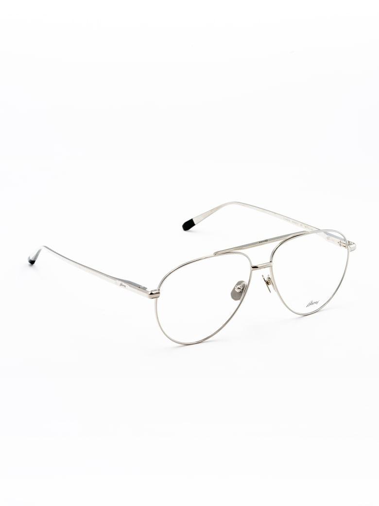 Brioni BR0091O Eyewear - Silver Silver Transpa