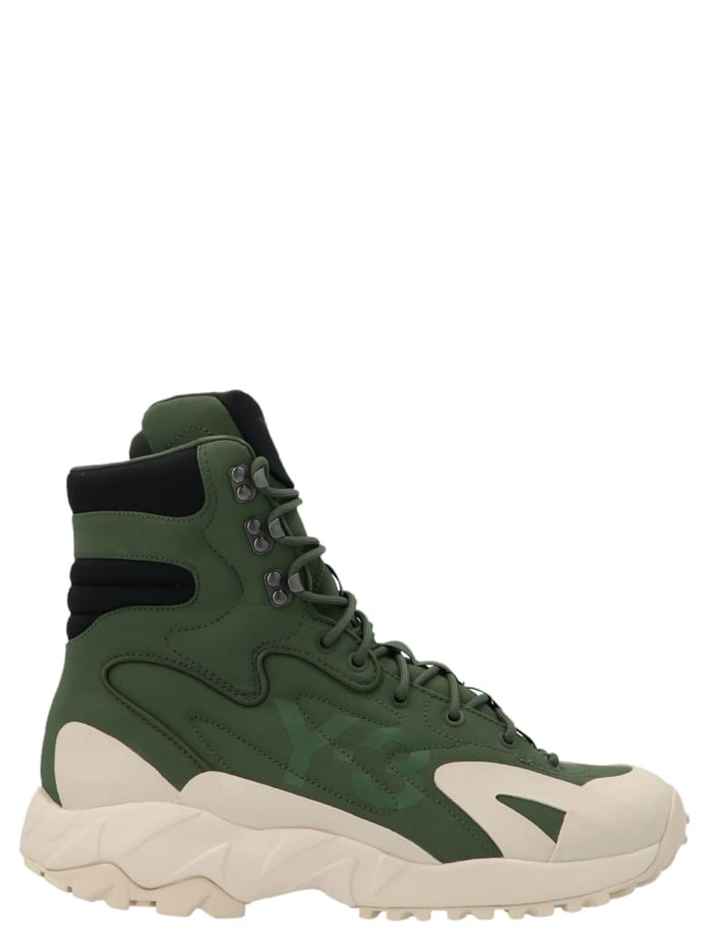 Y-3 'notoma' Shoes - Green