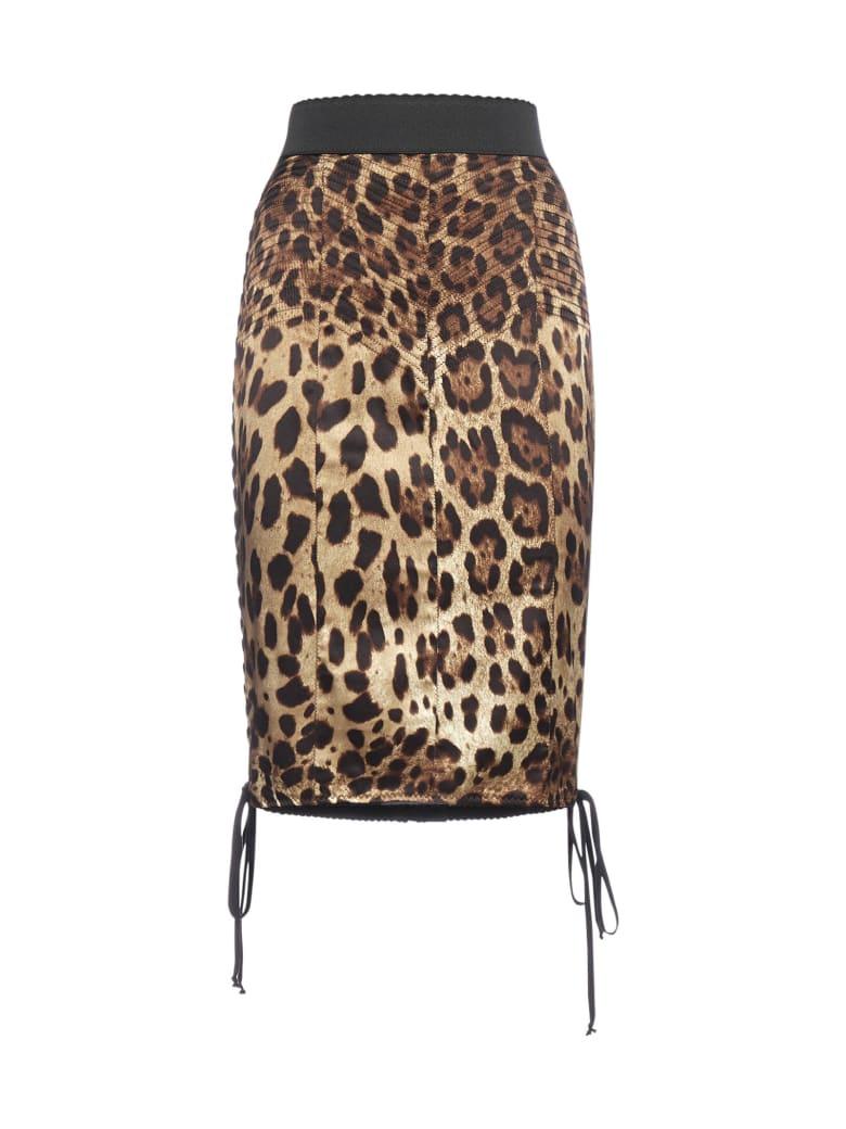Dolce & Gabbana Skirt - Leo macchia marrone