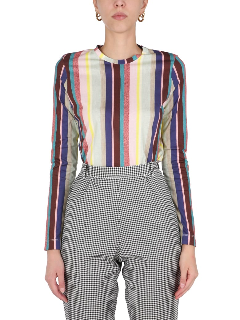 PS by Paul Smith T-shirt With Multicolour Print - MULTICOLOR