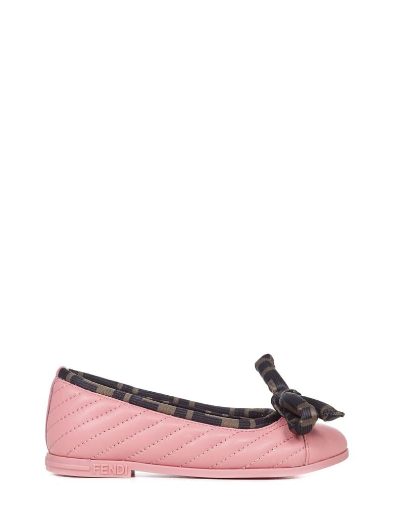 Fendi Kids Ballet Flat - Pink