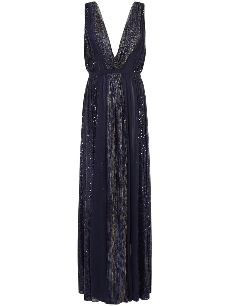 Azzaro Fedora Long Dress - Blue