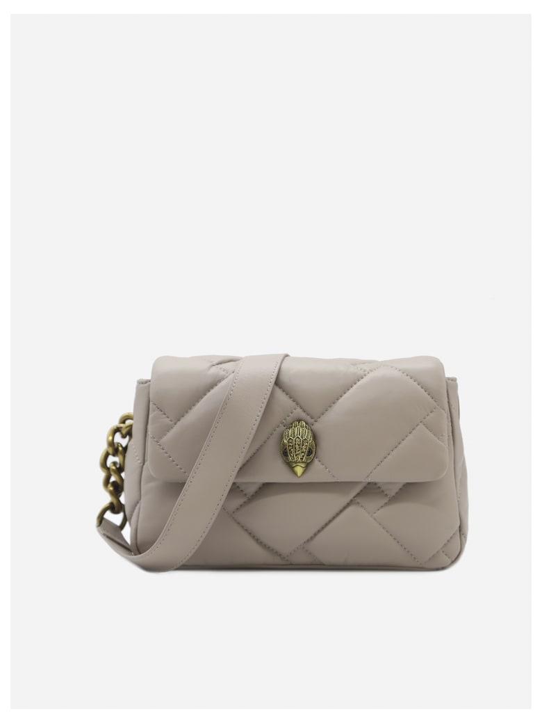 Kurt Geiger Medium Kensington Bag In Leather - Blush