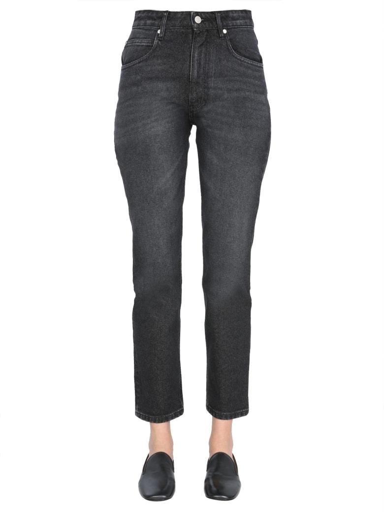 Ami Alexandre Mattiussi Bell-bottom Denim Jeans - NERO