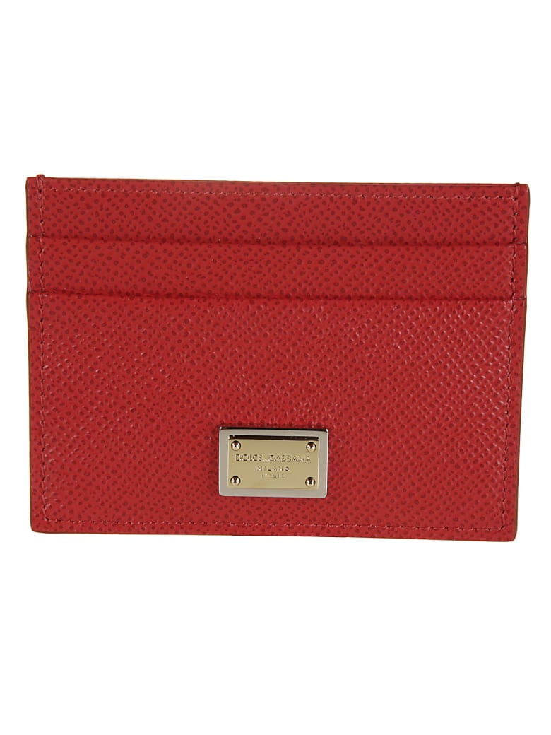 Dolce & Gabbana Dauphine Card Holder - Rosso