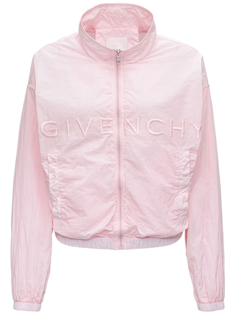 Givenchy 4g Pink Jacket In Recycled Nylon - Pink