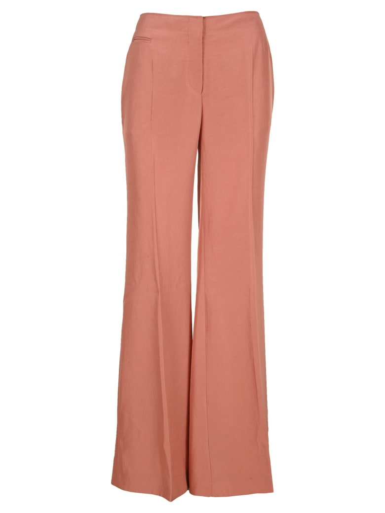 Tom Ford Heavy Twill Tailored Straight Leg Pants - ROSE NUDE