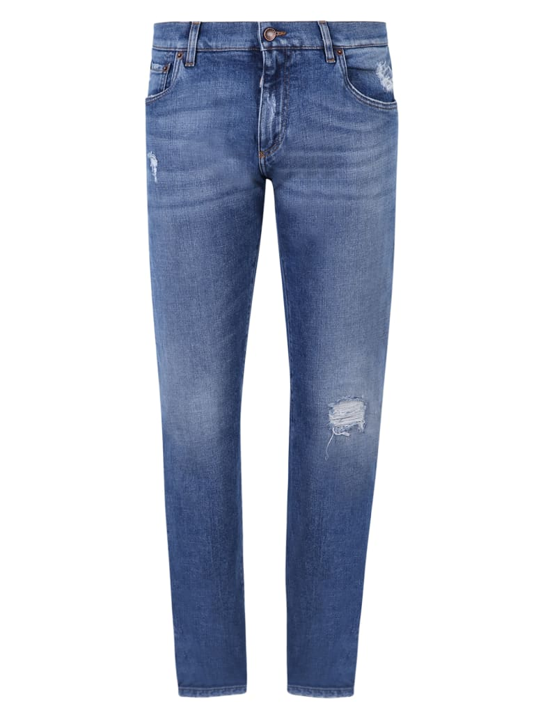 Dolce & Gabbana Skinny Jeans - Blu Denim