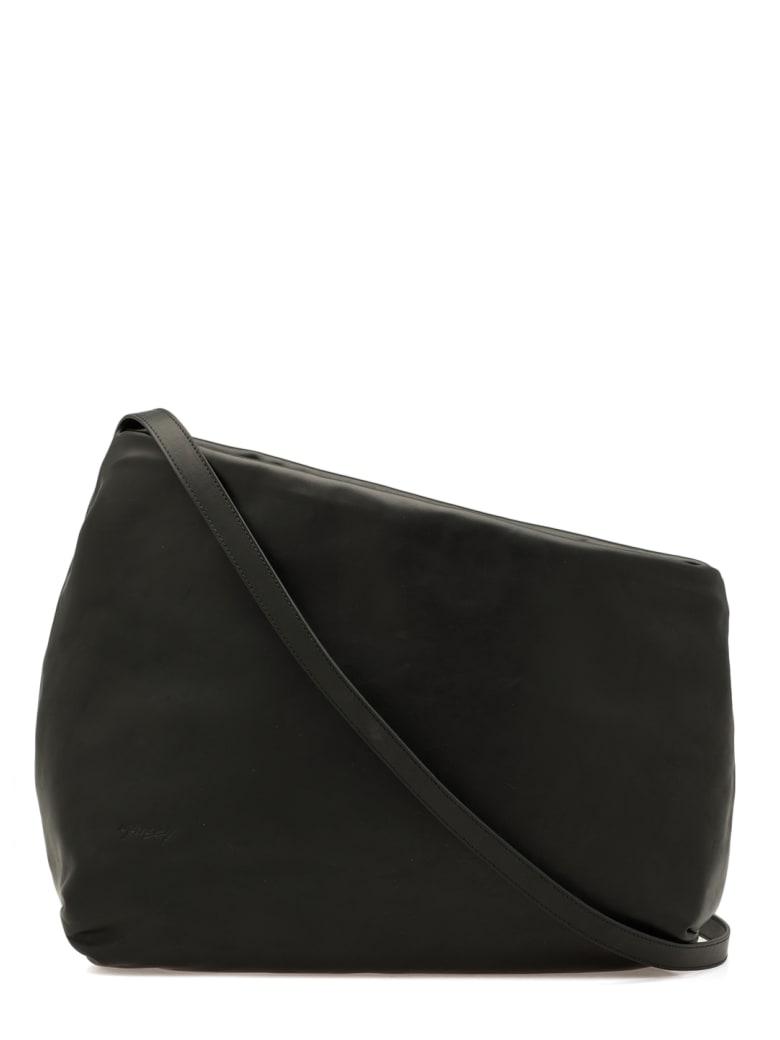 Marsell Asymmetric Leather Bag - Black