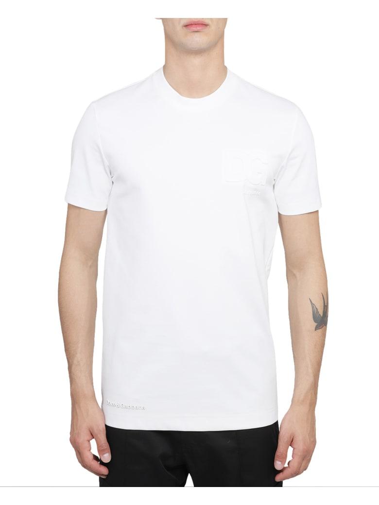 Dolce & Gabbana White Logo T-shirt - White