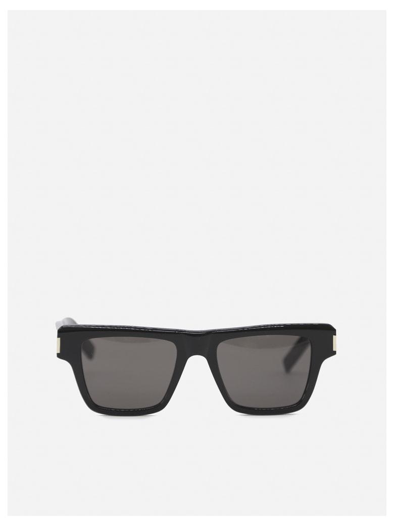 Saint Laurent Sl 469 Sunglasses In Acetate - Black
