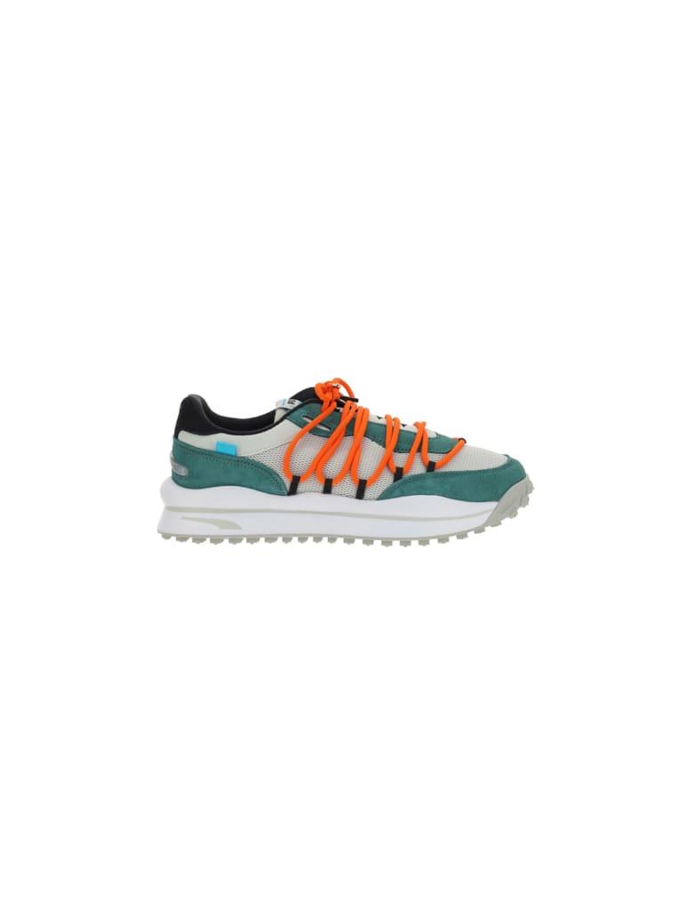 Puma Lace Rider Sneakers - Beige e Multicolore