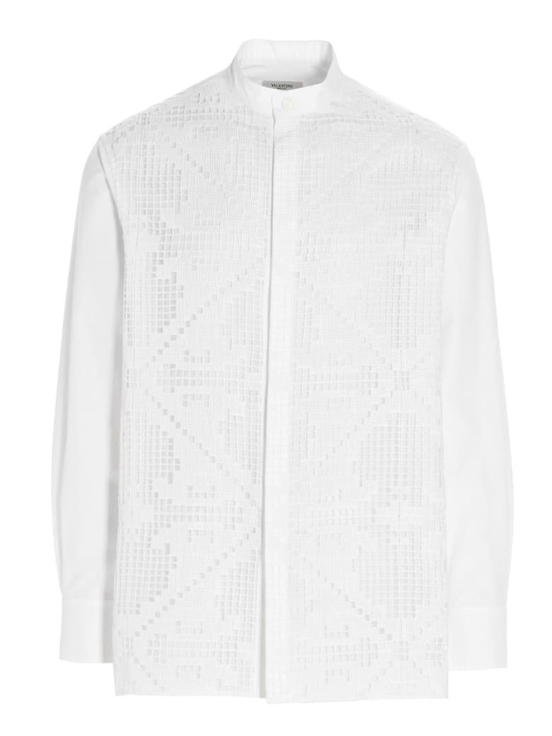Valentino 'lace' Shirt - White