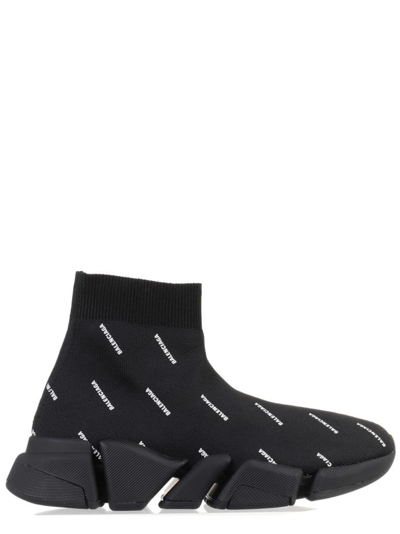 Balenciaga Black Speed 2.0 Sneakers - Nero/bianco