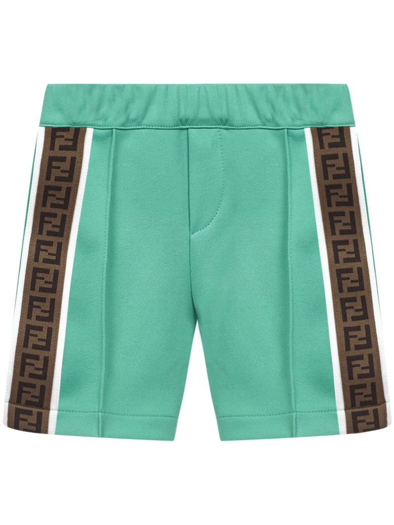 Fendi Kids Shorts - Green