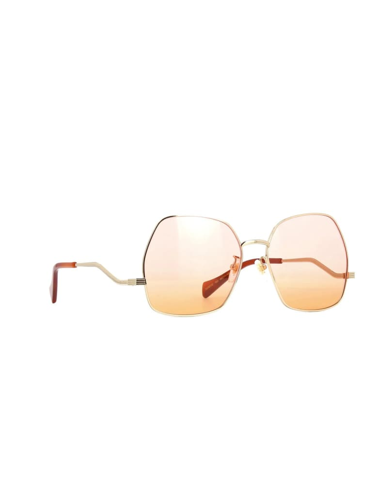 Gucci GG0972S Sunglasses - Gold Gold Pink