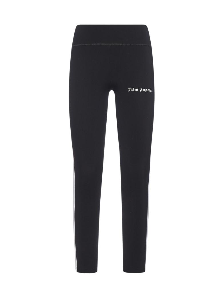 Palm Angels Pants - Black white