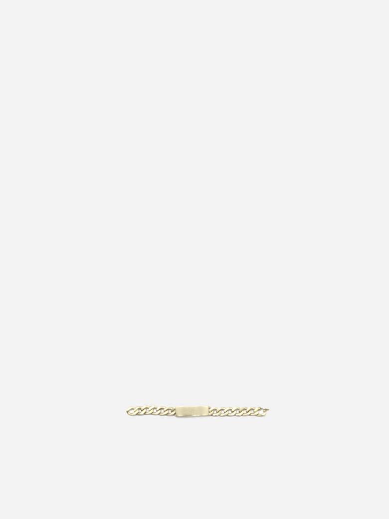 Maison Margiela Oversized Silver Chain Bracelet - Gold