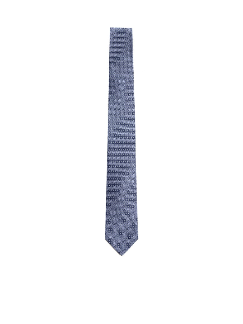 Salvatore Ferragamo Tie - F blu