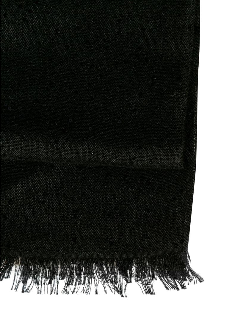 Brunello Cucinelli Fringed Edge Classic Scarf - Black